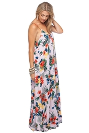 Buddy Love Panama Tropic Maxi-Dress - Front full body