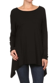 Panamex Asymmetrical Hem Tunic - Product Mini Image