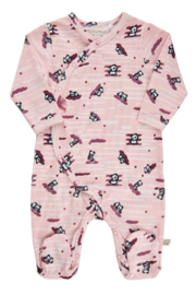 Minymo Panda Footie - Front cropped