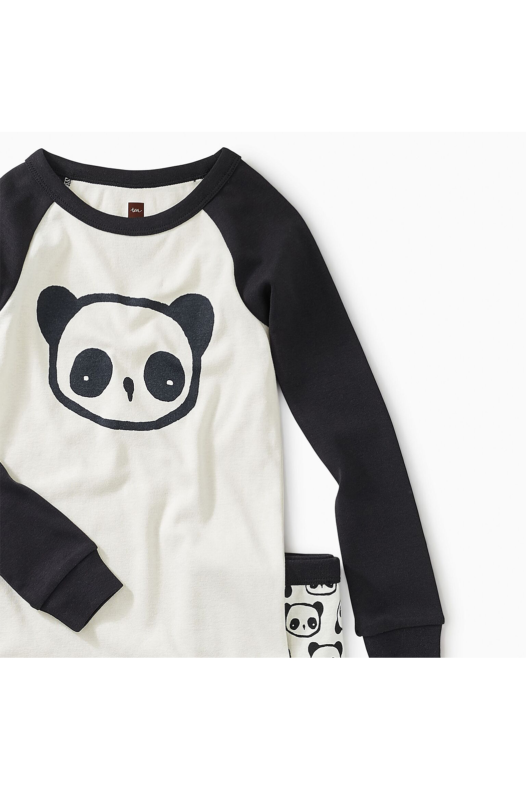 Tea Collection Panda Pal Graphic Pajama - Front Full Image
