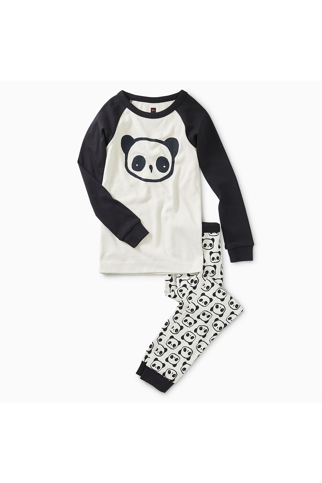Tea Collection Panda Pal Graphic Pajama - Front Cropped Image