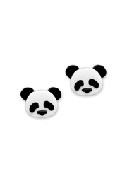 Little Moose Panda Stud Earrings - Product Mini Image
