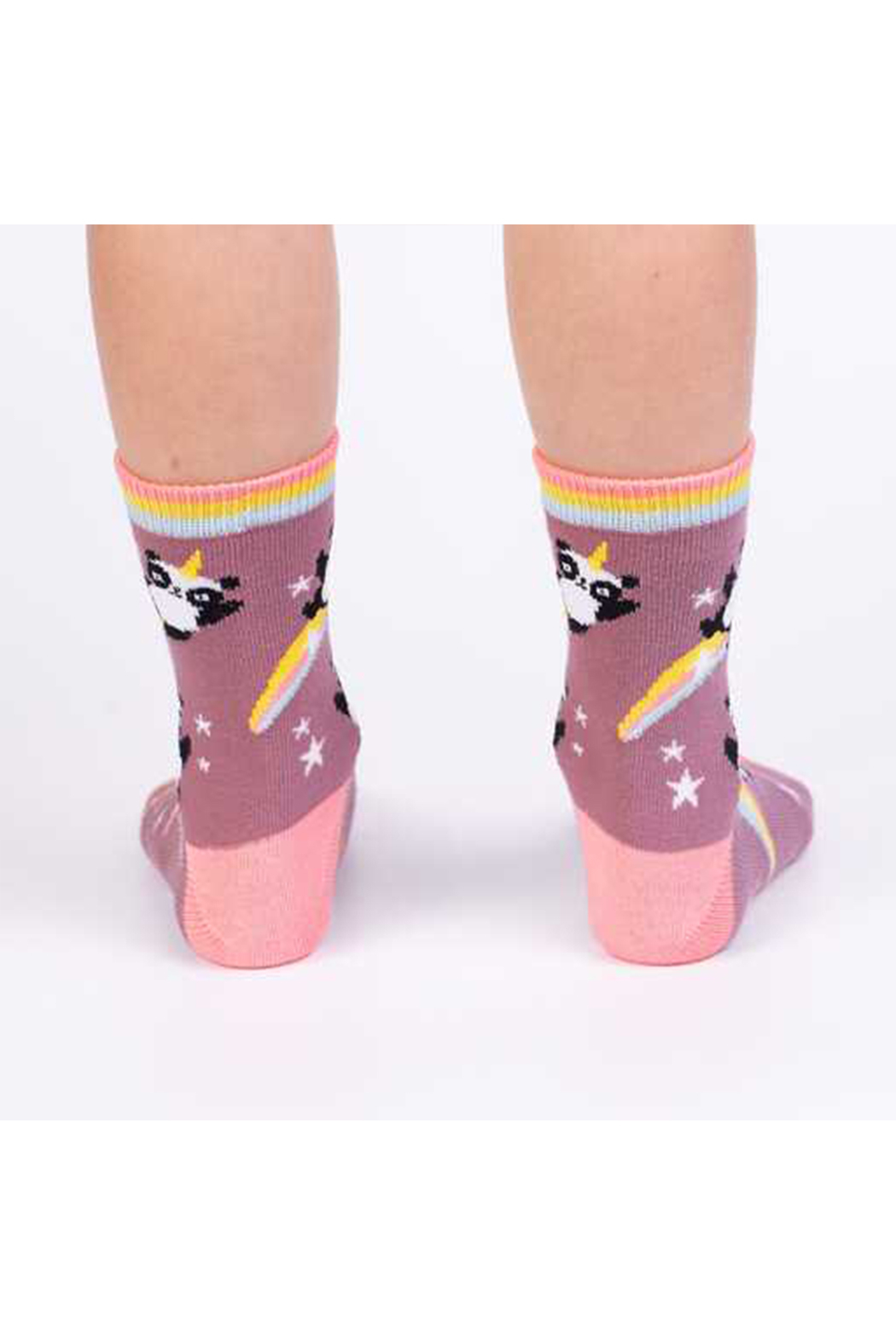 Sock it to me Pandacorn Crew Socks - Youth & Junior - Front Full Image