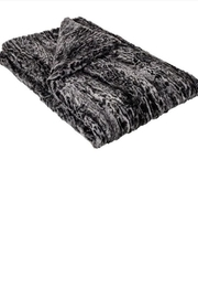 Pandemonium Millinery  Luxury Faux-Fur Throw - Front cropped