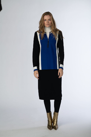 Meli by FAME PANELED SWEATER - Product Mini Image