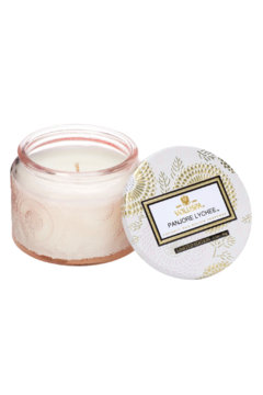 Voluspa Panjore Lychee Small Glass Jar Candle - Product List Image
