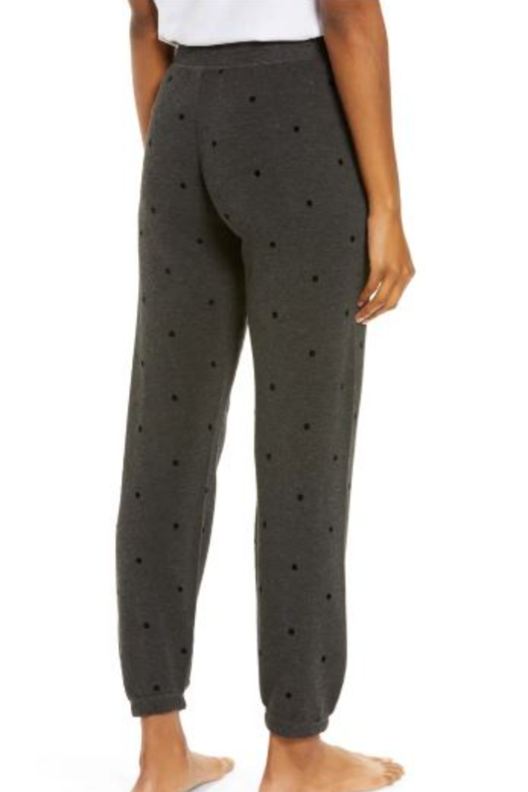 PJ Salvage Pant Snow Dot - Front Full Image