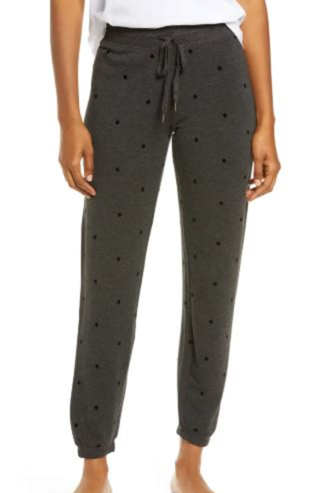 PJ Salvage Pant Snow Dot - Front Cropped Image
