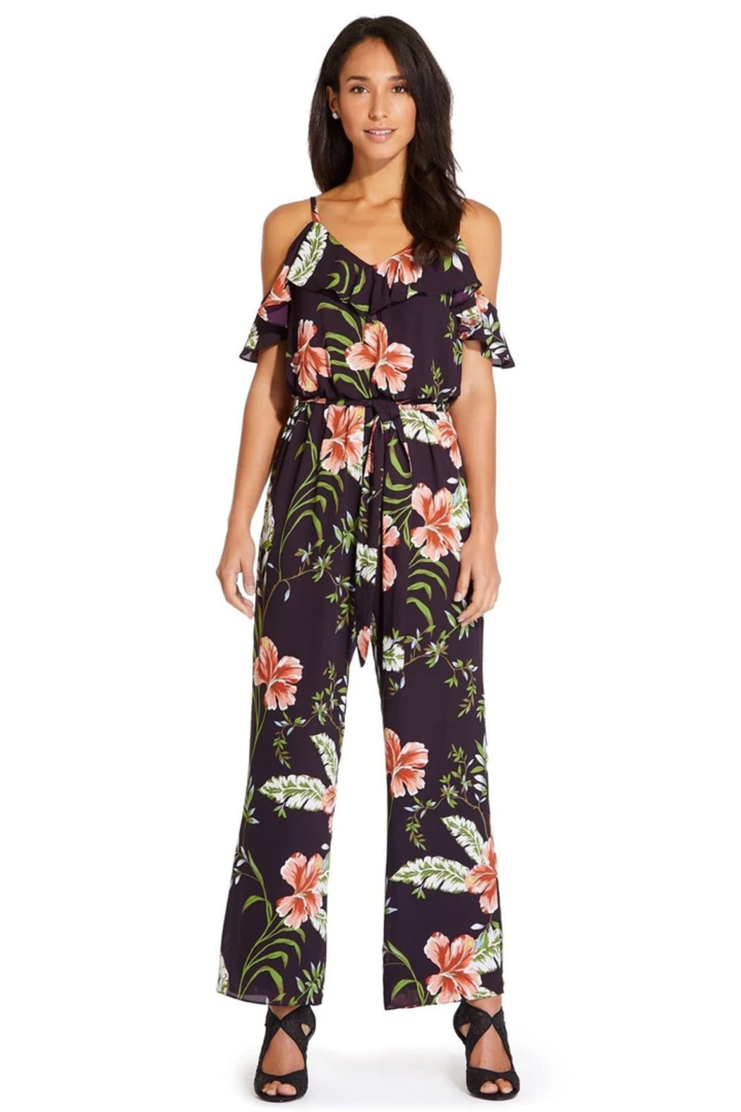 Adrianna Papell AP1D103372 - Pant-Suit - Front Cropped Image