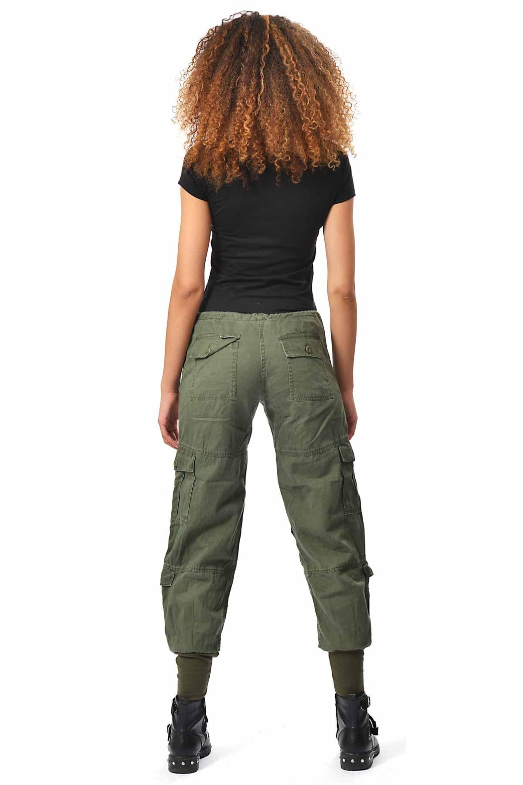 Gypsetters Pants Cargo Dragon - Side Cropped Image