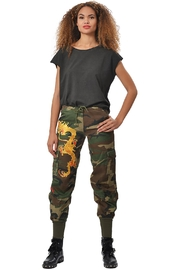 Gypsetters Pants Cargo Dragon - Front full body