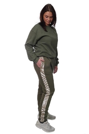 Gypsetters Pants Sequin Stripe - Side cropped