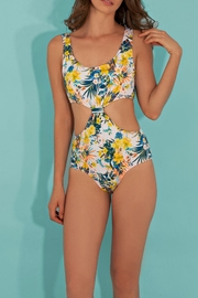 Paola Amador Flower Knot Swimwear - Front full body
