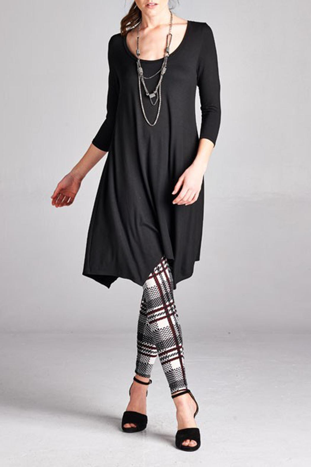 Paolin Color Handkerchief Tunic - Front Cropped Image