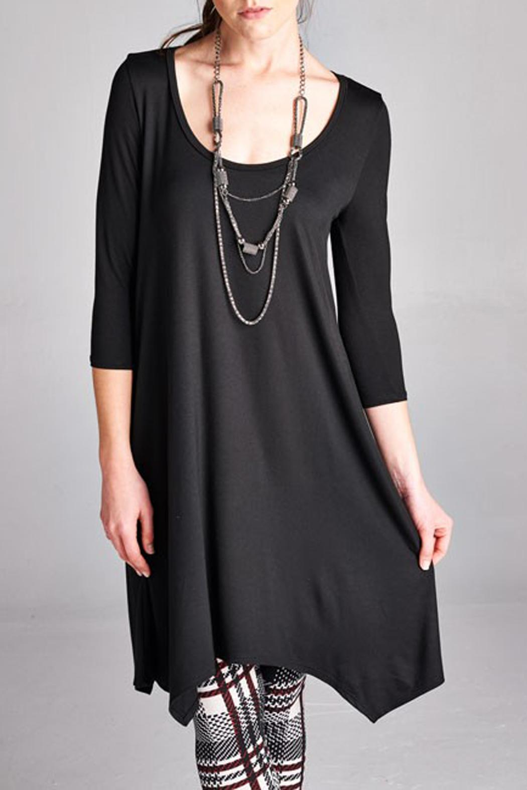 Paolin Color Handkerchief Tunic - Front Full Image