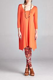 Paolin Color Handkerchief Tunic - Front cropped