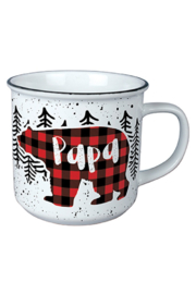 Carson Home Accents Papa Bear Vintage Mug - Front cropped