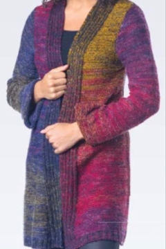 Shoptiques Product: Funky Multi Cardie