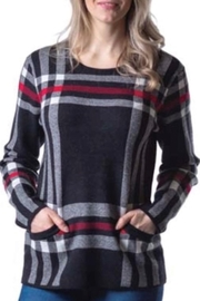 Papa Fashions Perfect Plaid Pull Over - Front cropped