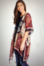 Paparazzi Colorful Kimono - Product Mini Image