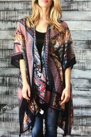 Paparazzi Kimono With Tassels - Product Mini Image