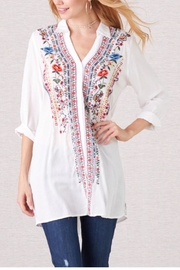 Paparazzi Viejo Embroidered Tunic - Product Mini Image