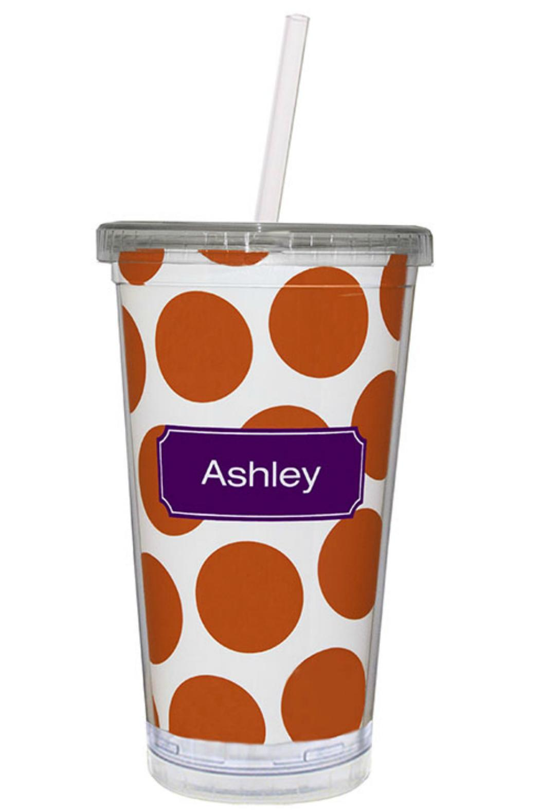 Paparte Personalized Acrylic Tumbler - Front Cropped Image