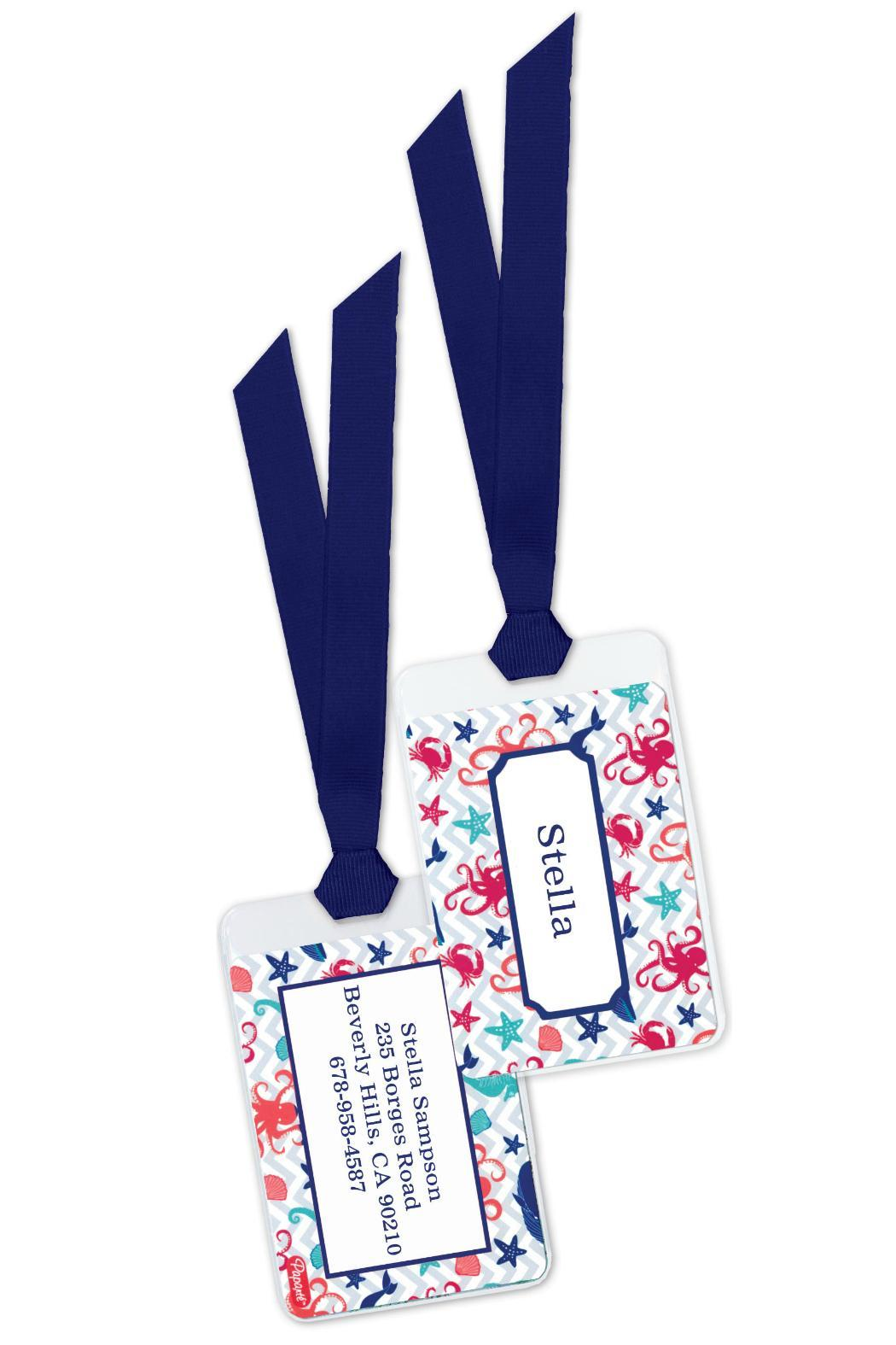 Paparte Personalized Bagtag Set - Front Cropped Image
