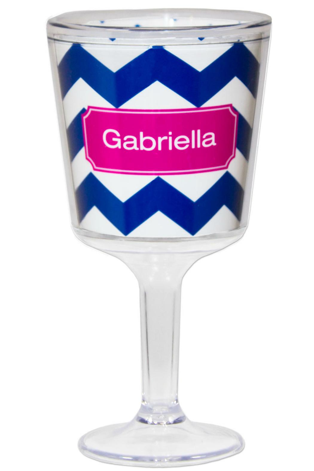 Paparte Personalized Wine Glass - Front Cropped Image