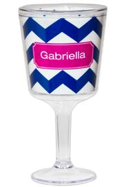 Paparte Personalized Wine Glass - Front cropped