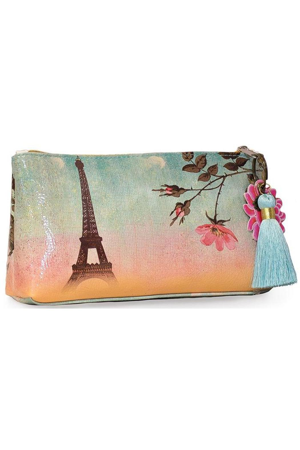 PAPAYA! Eiffel Tower Tassel Pouch - Main Image
