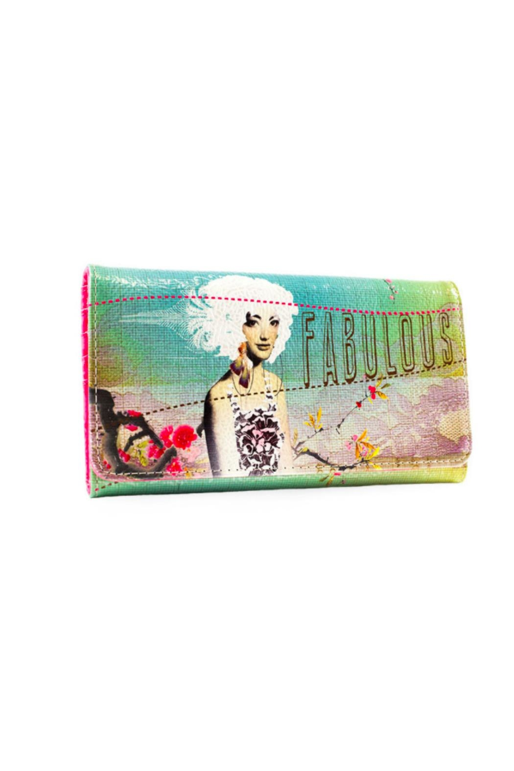 PAPAYA! Fabulous Trifold Wallet - Front Cropped Image