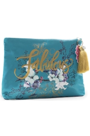 PAPAYA! Flower Large Pouch - Product Mini Image