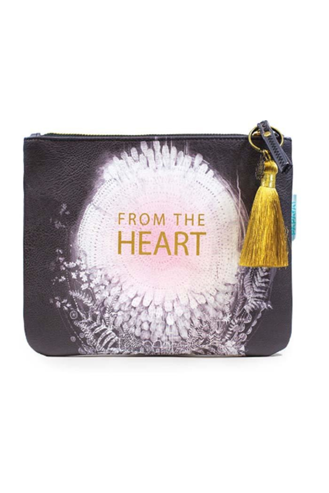 PAPAYA! Heart Pocket Clutch - Main Image