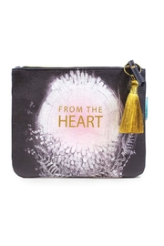 PAPAYA! Heart Pocket Clutch - Front cropped