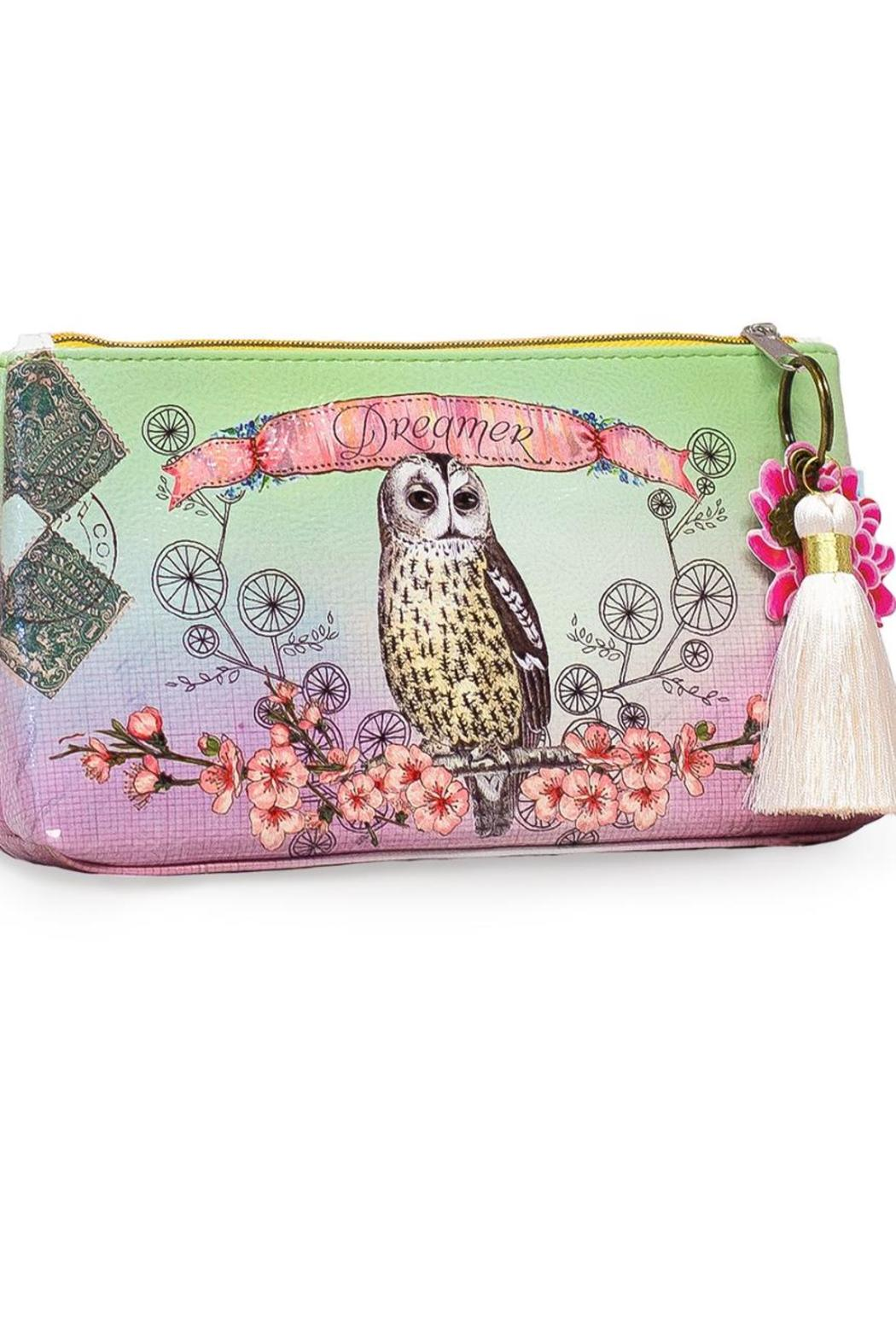 PAPAYA! Owl Small Pouch - Front Cropped Image