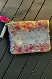 Papaya All-For-Love Tassel Pouch - Product Mini Image