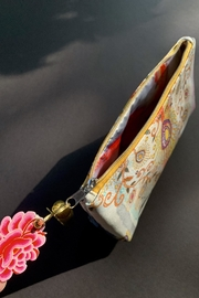 Papaya Peacock Pouch - Side cropped