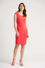 Joseph Ribkoff Papaya Sheath Dress - Product Mini Image