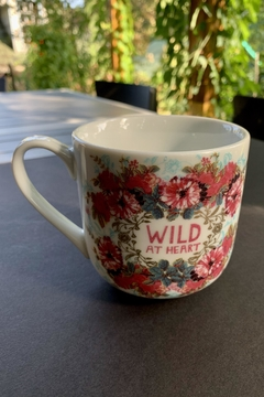 Papaya Wild Heart Mug - Product List Image