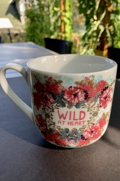 Papaya Wild Heart Mug - Alternate List Image