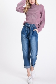 Lyn -Maree's Paper Bag Boyfriend Jeans - Product Mini Image