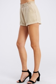 Cotton Candy LA Paper Bag Shorts - Front full body