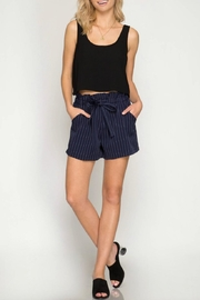 She + Sky Paper Bag Shorts - Product Mini Image