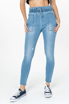 Funky Soul Paper bag waist jeans - Product List Image