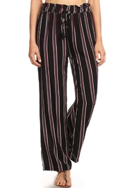 S&G Apparel Paper-Bag Waist Pants - Front cropped