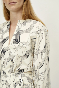 Just Female Paper Blouse - Product List Image