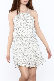 Paper Crane Smocked Waist Floral Dress - Front cropped