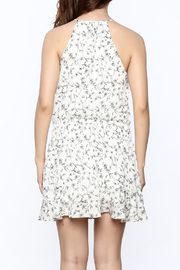 Paper Crane Smocked Waist Floral Dress - Back cropped