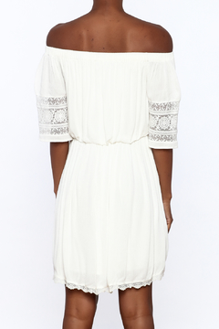 Paper Crane Ivory Off Shoulder Dress - Alternate List Image